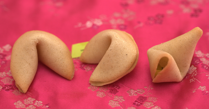 Cardamom-Spiced Fortune Cookies | Flour Arrangements