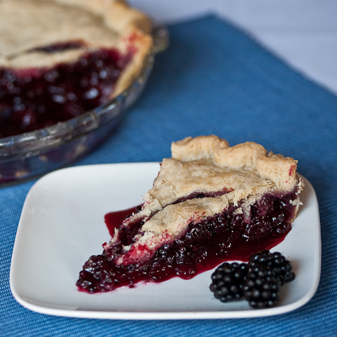 Blackberry Pie | Flour Arrangements