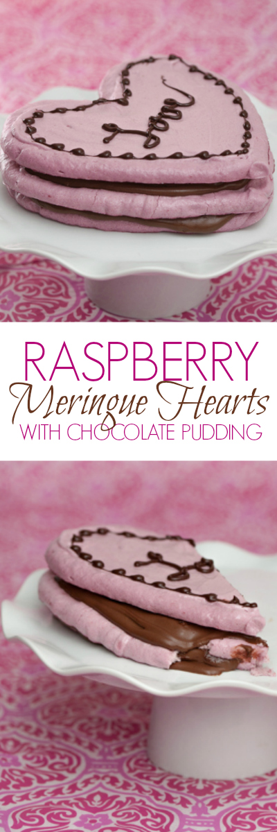 With its subtle raspberry-sweetness layered with smooth, chocolaty richness, this Raspberry Meringue Heart Stack will make you fall in love all over again. A perfect Valentine's Day recipe!