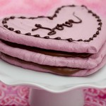 Raspberry Meringue Hearts | Flour Arrangements