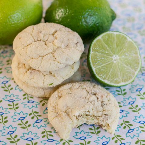 Lime Sugar Cookies | Flour Arrangements