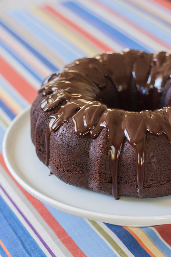 Glossy, whiskey-laced ganache adds over-the-top decadence to this moist, rich chocolate whiskey cake. Mix this simple recipe in one pot on your stove.