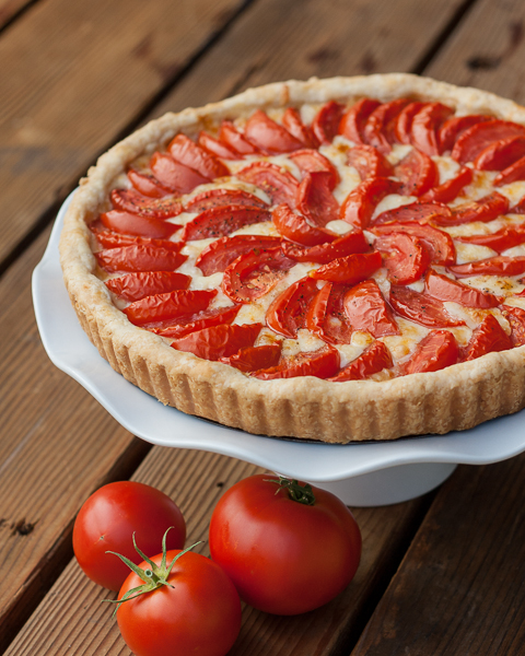 Tomato Onion Tart | Flour Arrangements