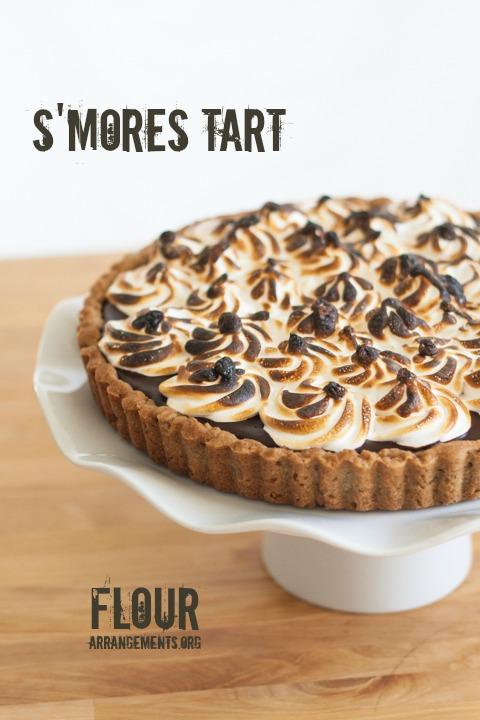 S'mores Tart   Flour Arrangements
