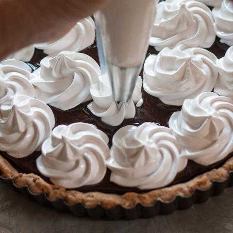 S'mores Tart |Flour Arrangements
