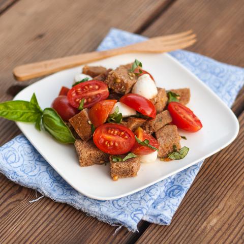 Tuscan Bread & Tomato Salad | Flour Arrangements