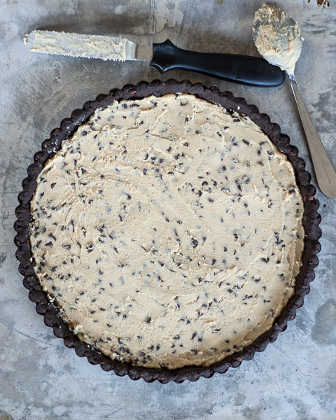 Chocolate Chip Cookie Dough Tart | Flour Arrangements