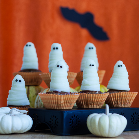 Halloween Meatloaf Cupcakes | Flour Arrangements