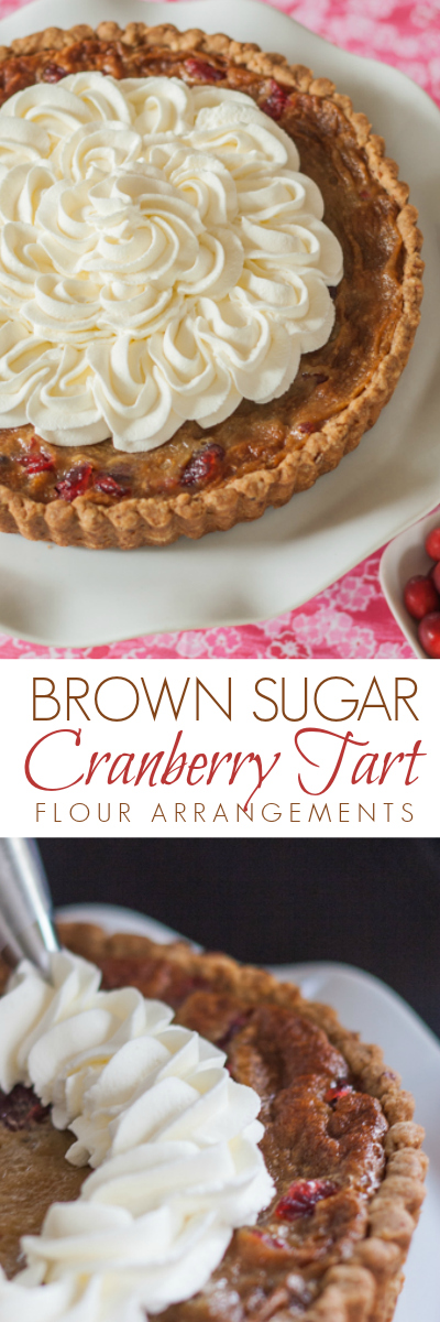 Brown Sugar's sweetness tempers the tangy, slightly bitter edge of cranberries in this Brown Sugar Cranberry Tart.