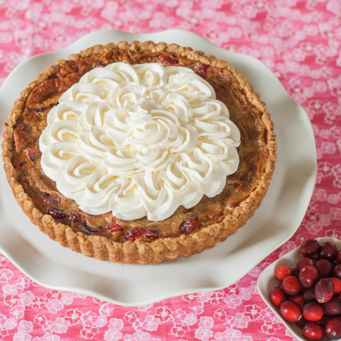 Brown Sugar-Cranberry Tart |Flour Arrangements