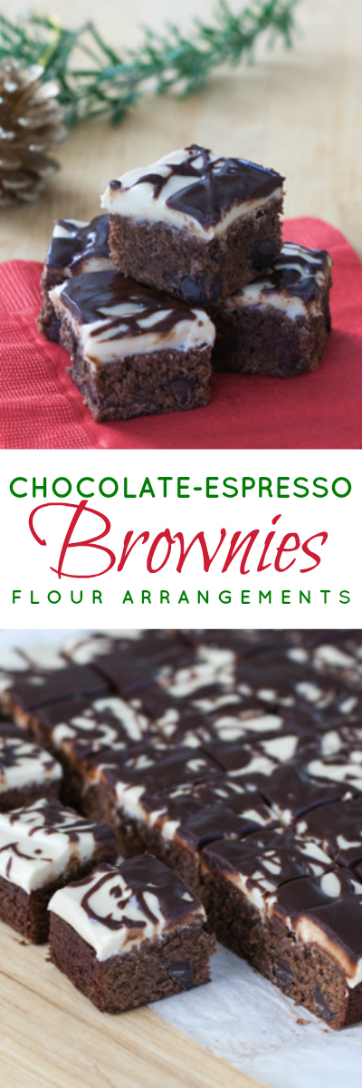 Espresso powder and Kahlua work their magic in these dense Chocolate Espresso Brownies. Kahlua frosting and a chocolate-Kahlua glaze make them irresistible.