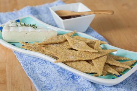 Ginger Millet Crackers | Flour Arrangements