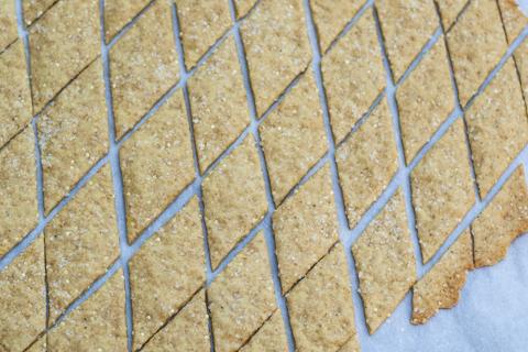 Ginger Millet Crackers | Flour Arrangements