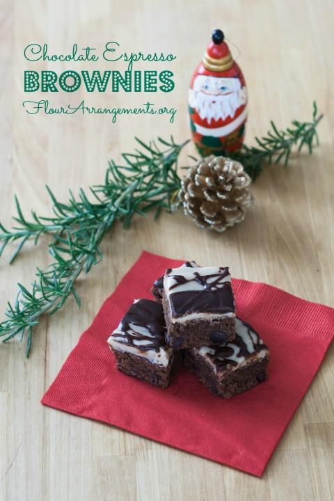Chocolate Espresso Brownies | Flour Arrangments