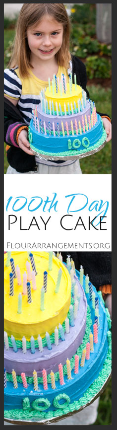 Learn basic tips for frosting and decorating through a six-year-old's 100th day of school project -- a three-tiered cake!