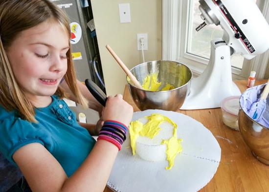 100th Day of School Cake | Flour Arrangements