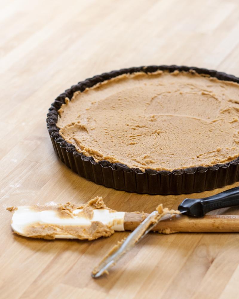 Peanut Butter Chocolate Tart | Flour Arrangements