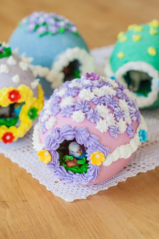 DIY Peek-A-Boo Eggs | Flour Arrangements