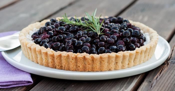 Honeyed Blueberry Tart | Flour Arrangements