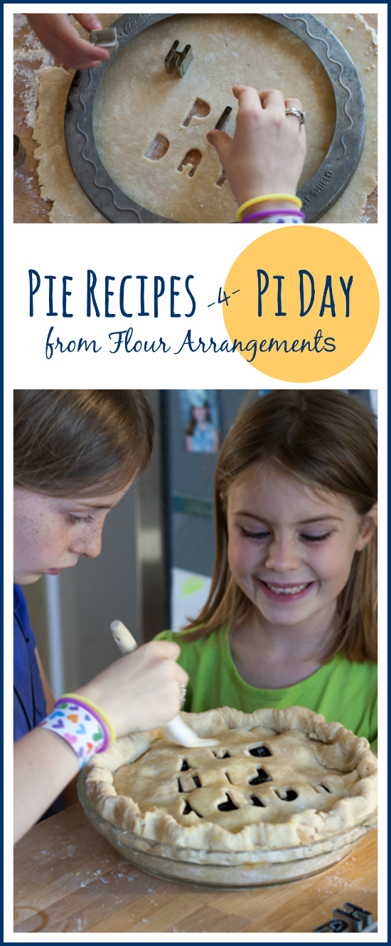 Celebrate Pi Day with help from this collection of pie recipes from Flour Arrangements.