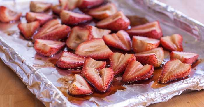 Balsamic Roasted Strawberries | Flour Arrangements