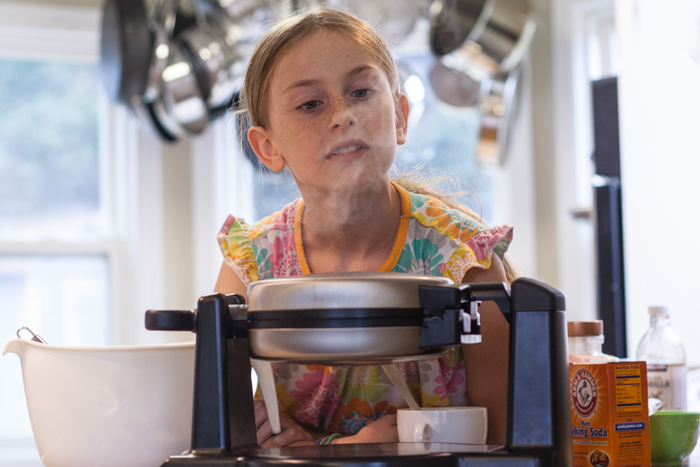 Kids in the Kitchen   Flour Arrangements
