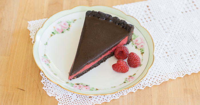 Raspberry Cream Tart | Flour Arrangements
