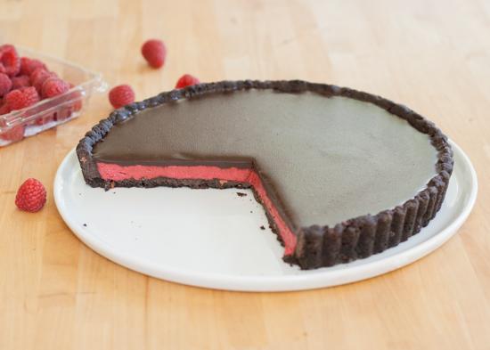Raspberry Cream Tart   Flour Arrangements