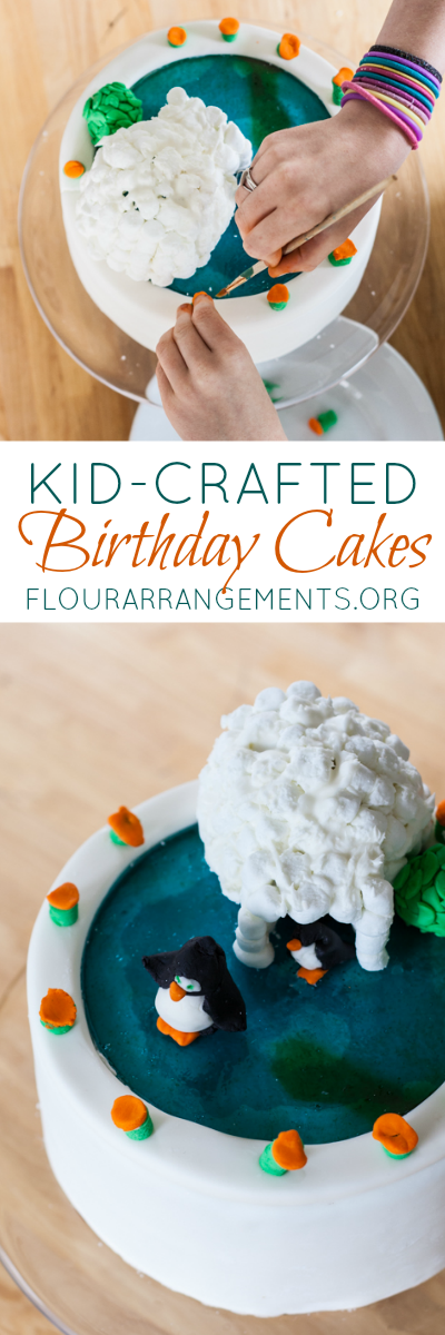 Let your kids decorate their own birthday cakes! Mixing up marshmallow fondant is simple, and working with it is easier than you think.