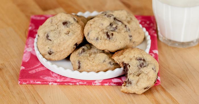 Chewy Chocolate Chip Cookies   Flour Arrangements