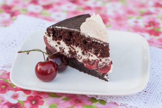 Simple Black Forest Cake | Flour Arrangements
