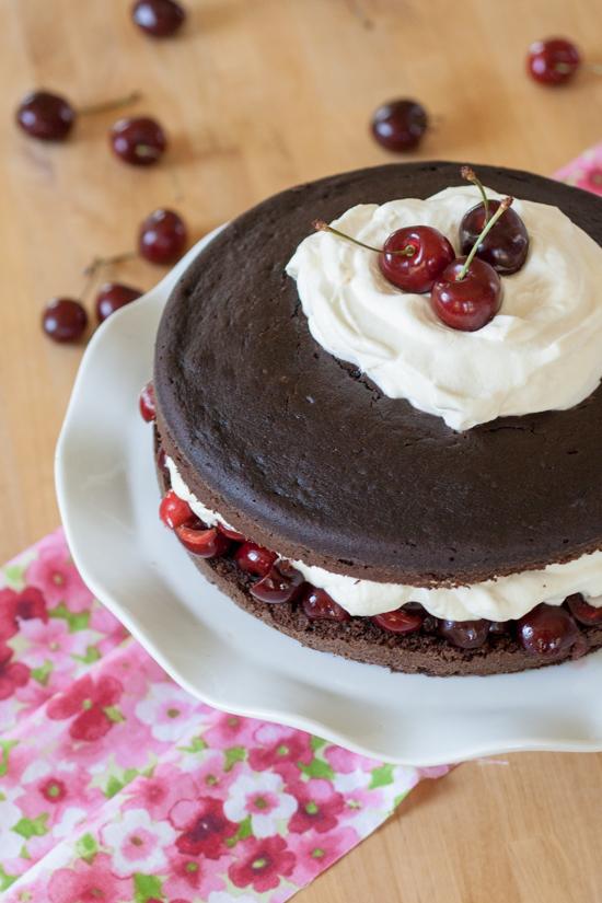 Simple Black Forest Cake | Flour Arrangements