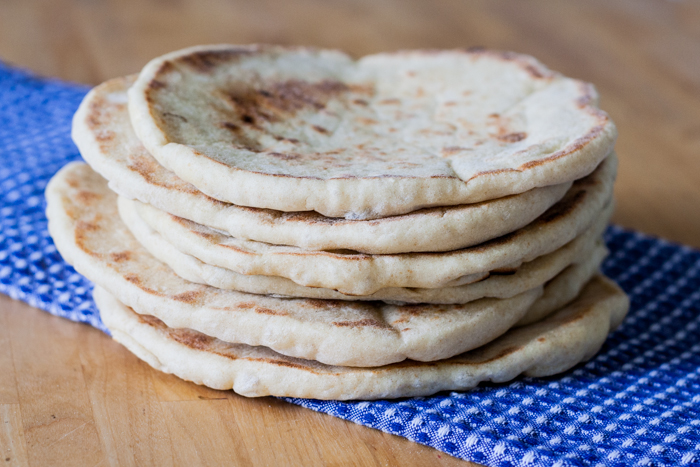 Homemade Flatbread   Flour Arrangements