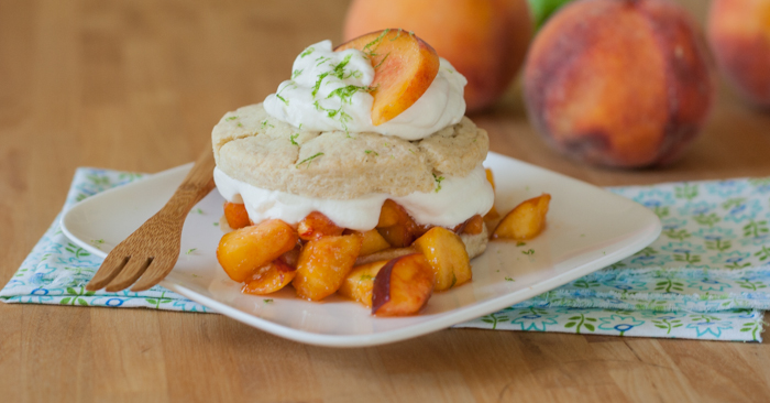 Summer Peach Shortcake | Flour Arrangements
