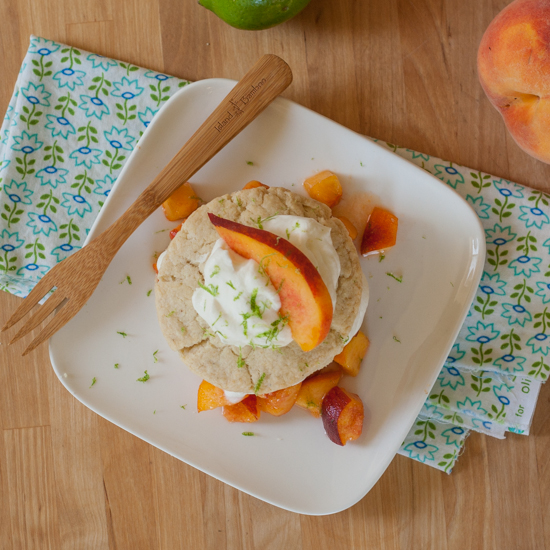 Summer Peach Shortcake   Flour Arrangements