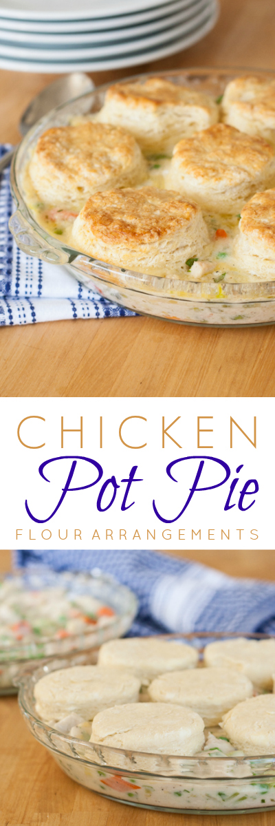 This chicken pot pie recipe produces a rich, flavorful dish full of hearty vegetables and loads of meat. It's a perfect use for leftover chicken or turkey.
