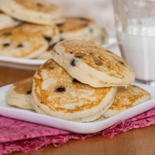 Chocolate Chip Pancakes | Flour Arrangements