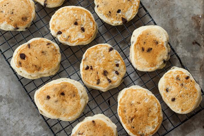 Chocolate Chip Pancakes   Flour Arrangements