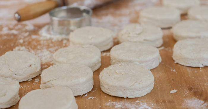 Perfect Buttermilk Biscuits   Flour Arrangements