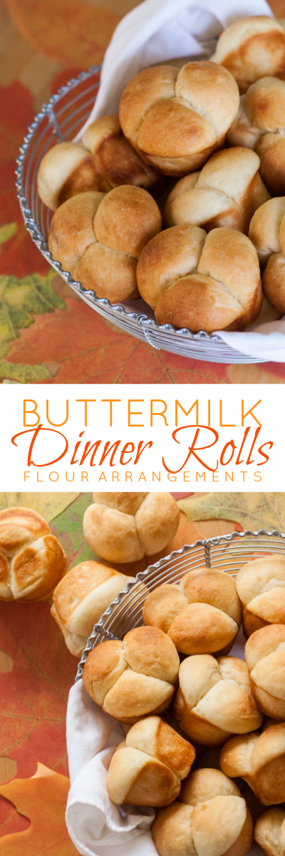These tender Buttermilk Dinner Rolls are light and delicate without feeling insubstantial. Their rich, buttery flavor makes them perfect rolls for holiday meals.