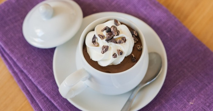Chocolate Mousse   Flour Arrangments