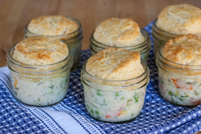 Mini Turkey Pot Pie | Flour Arrangements