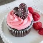 Chocolate Raspberry Cupcakes | Flour Arrangements