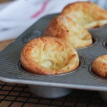 Cheesy Muffin Tin Popovers | Flour Arrangements