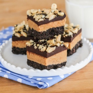 Chocolate Peanut Butter Bars | Flour Arrangements