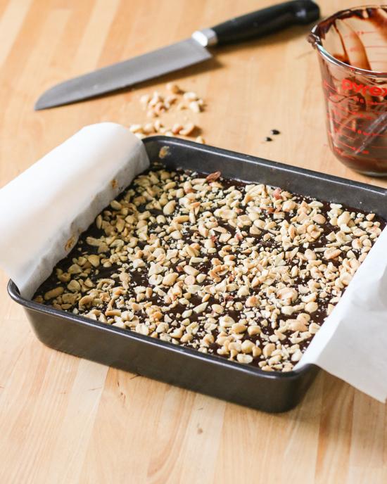 Chocolate Peanut Butter Bars | Flour Arrangements