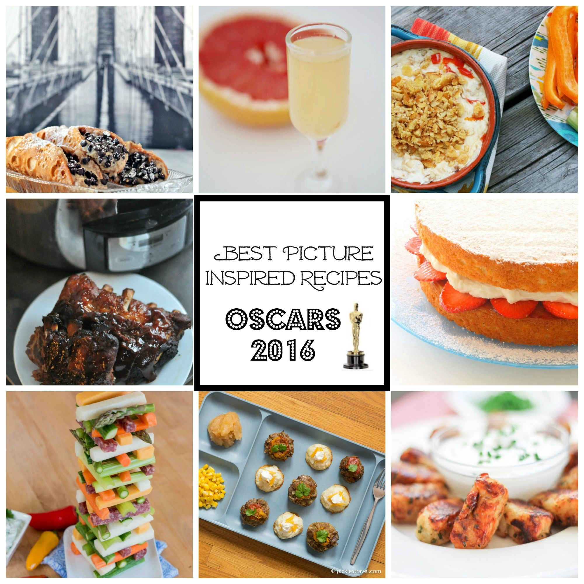 2016 Oscar Inspired Recipes