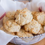 Cheddar Drop Biscuits | Flour Arrangements