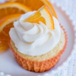 Orange Creamsicle Cupcakes | Flour Arrangements