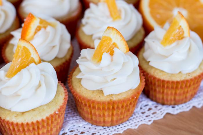 Orange Creamsicle Cupcakes | Flour Arrangements